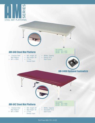 AM-640 Mat Table