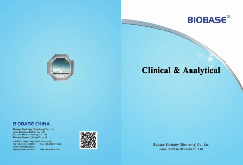 BIOBASE Analytical Equipments Catalogue