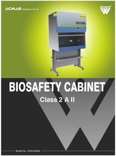 Biosafety Cabinet Class 2 A II