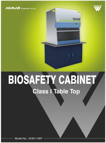 Biosafety Cabinet Class I Table Top