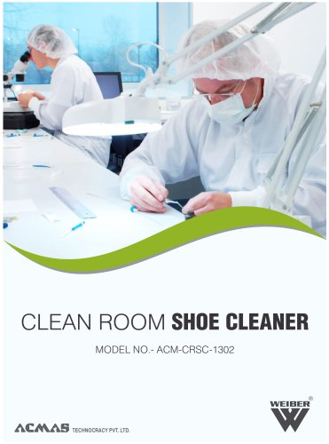 Clean Room Shoe Cleaner  (ACM-CRSC-1302)