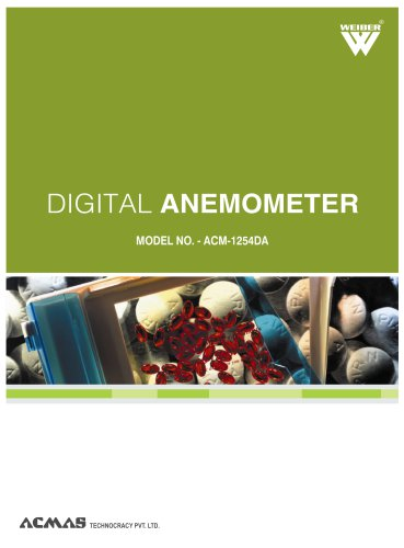 Digital Anemometer (ACM-1254DA)