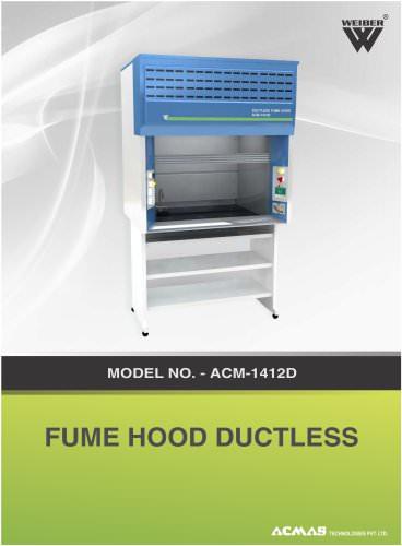 Fume Hood Duct Less (ACM-1412D)