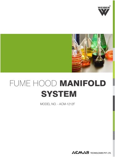 Fume Hood Manifold System (ACM-1212F)