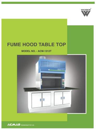 Fume Hood Table Top (ACM-1312T)