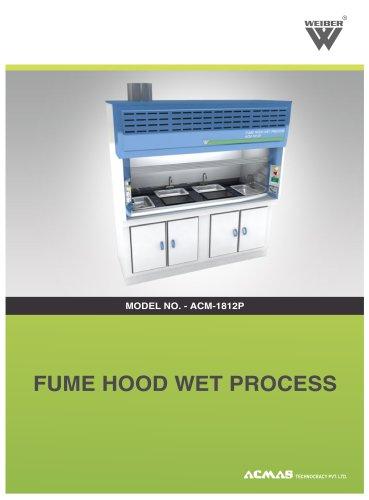 Fume Hood Wet Process (ACM-1812P)