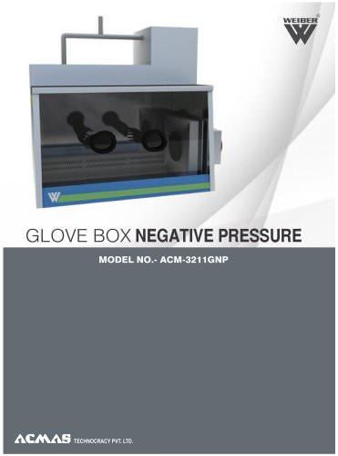 Glove Box Negative Pressure (ACM-3211GNP)