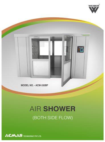 Material Handling Air Shower Both Side Flow
