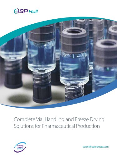 Complete Vial Handling and Freeze Drying Solutions for Pharmaceutical Production