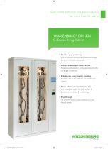WASSENBURG® DRY 300 Endoscope Drying Cabinet - 1