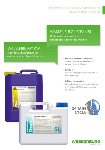 WASSENBURG PAA / WASSENBURG Cleaner
