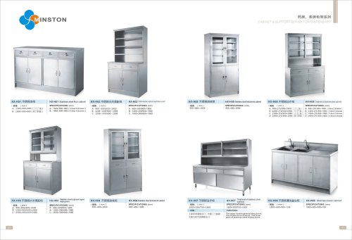 Cabinet & Support Series For Dispensary
