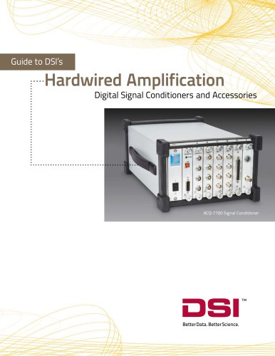 Digital Signal Conditioners and Accessories