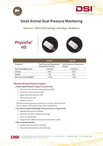 Dual Pressure Implants