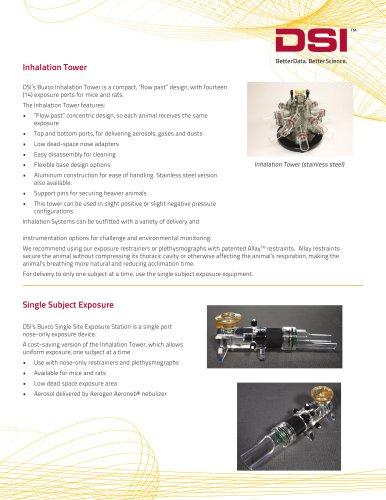 Inhalation and Exposure brochure
