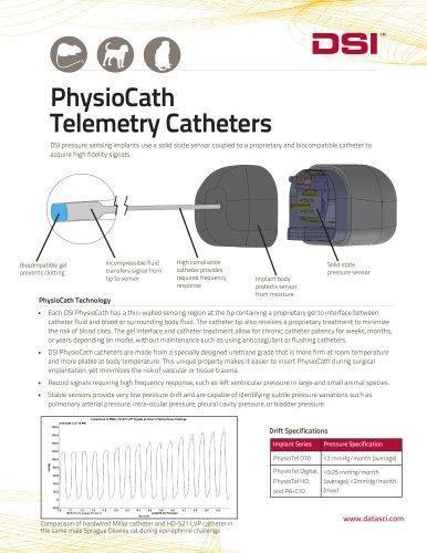 PhysioCath Telemetry Catheter