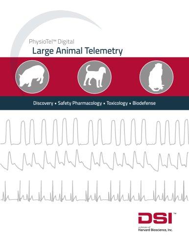 PhysioTel™ Digital Large Animal Telemetry