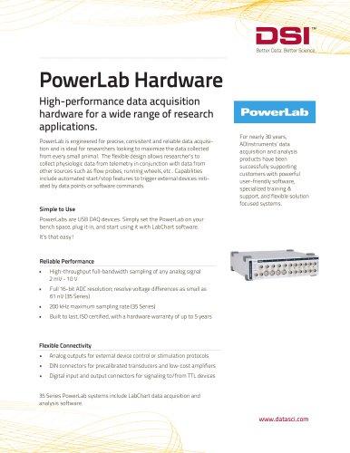 PowerLab Hardware