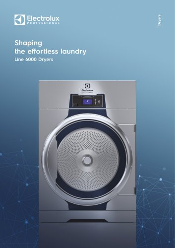 Electrolux Professional Line 6000 Dryers