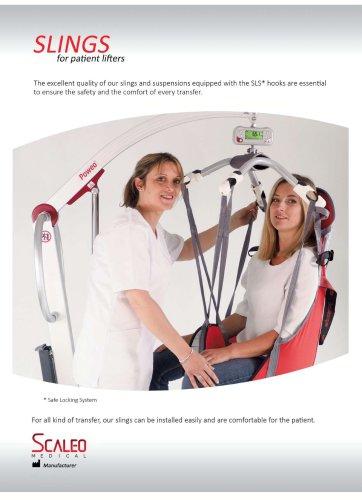 Slingsfor patient hoists