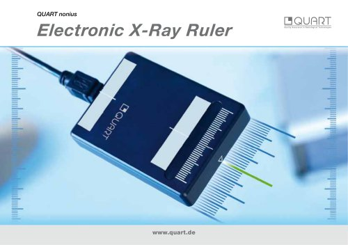Electronic X-Ray Ruler