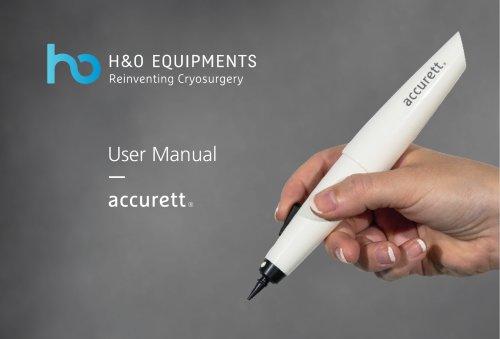 Accurett User manual