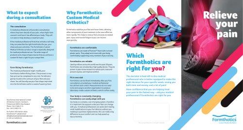 Formthotics  Custom Medical