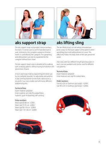 aks lifting sling