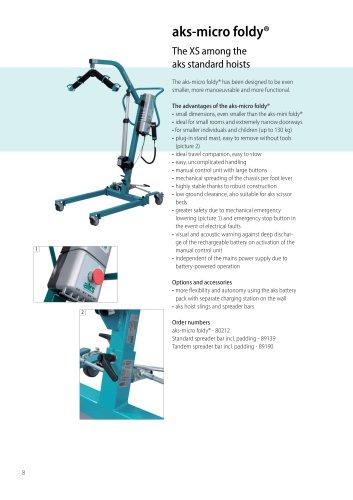 aks-micro foldy