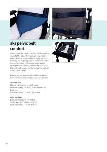 aks-pelvic holder comfort