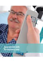 Appropriate aids for bariatric care