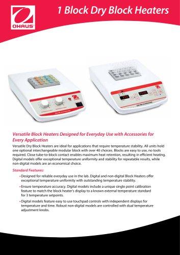1 Block Dry Block Heaters