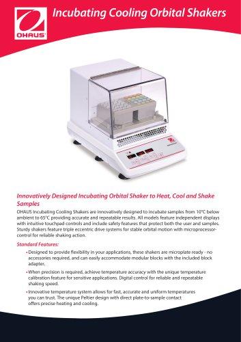 Incubating Cooling Orbital Shakers