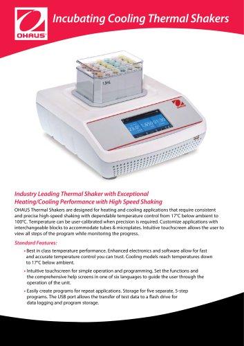 Incubating Cooling Thermal Shakers