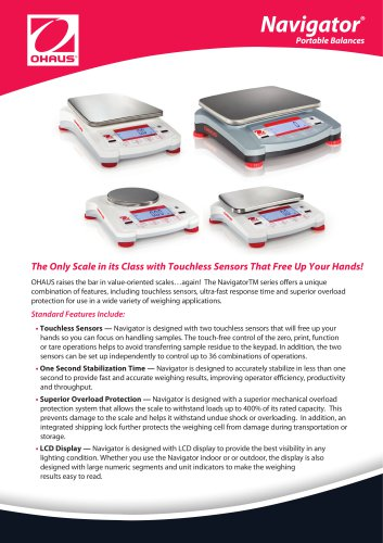 Navigator® Portable Balances