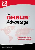 OHAUS Advantage