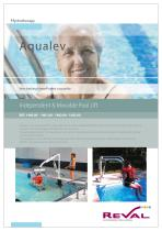 AQUA-LEVE - Independent and movable Pool lift
