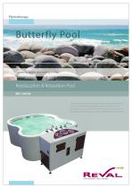 Butterfly pool - reeducation & relaxation pool