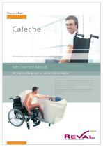 CALECHE - Side door seat bathtub
