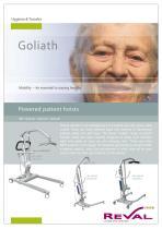 GOLIATH - Powered patient Hoists