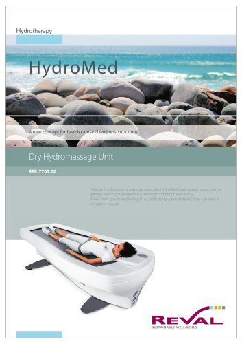 HYDROMED - Dry hydromassage unit