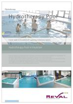 Hydrotherapy pool in vinylester