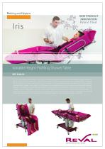 IRIS - Variable height profiling shower table
