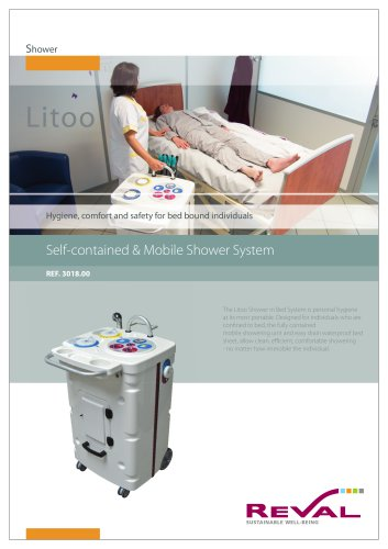 LITOO - Self-containerd & mobile shower system
