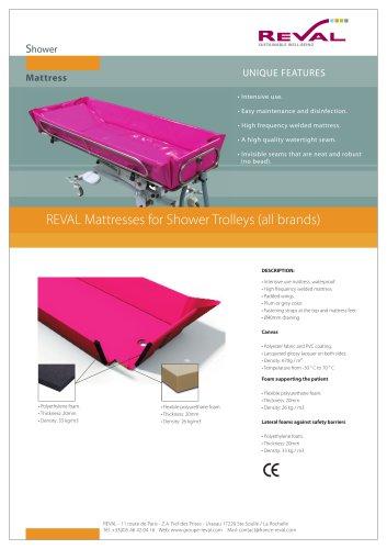 Mattresses for Shower Trolleys (all brands)
