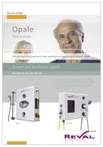 OPALE 3011 - Shower and disinfection panels