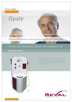 OPALE - Shower and disinfection panels with emptying sink