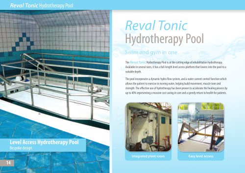 Reval Tonic Hydrotherapy Pool
