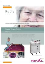 RUBY - Mobile shower system