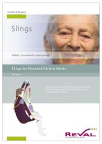 Slings for powered Patient Hoists